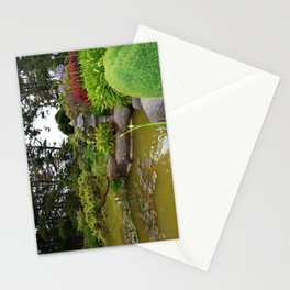 Japanese Garden Lantern Stationery Cards