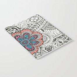 Flower-tangle Notebook