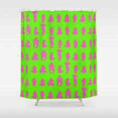 Dip & Come Up - Lime Juice Shower Curtain