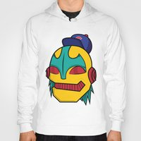 dope Hoodies featuring Dope by The Dopest Robot