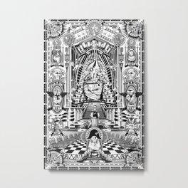 BASADO EN HECHOS SURREALES Metal Print