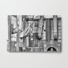 Industrial Grunge 14 Metal Print