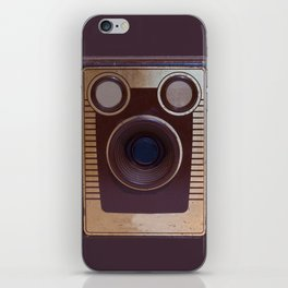 Boxed Camera iPhone Skin