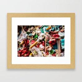 Trash is treasure Framed Art Print