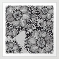 gray Art Prints featuring Gray  by rskinner1122
