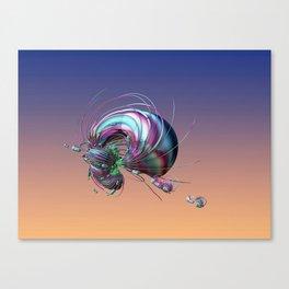 CRÉATURE ÉTRANGE 14 Canvas Print
