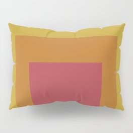 Block Colors - Teal Yellow Red Pillow Sham