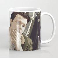 british Mugs featuring British Intelligence by AdamAether