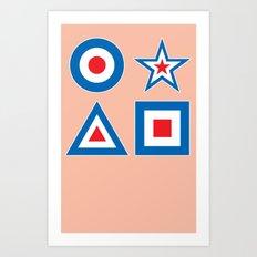 Target Practice 2 Art Print