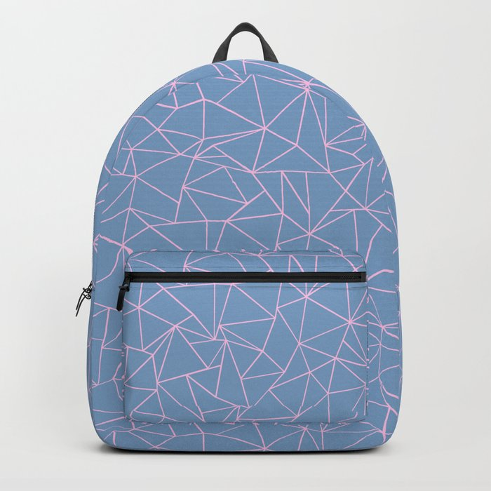 Ab Repeat Hot Pink B Backpack