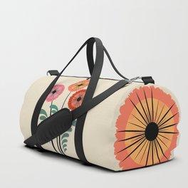 Retro flowers Duffle Bag