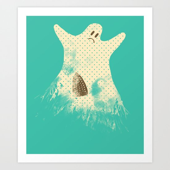 I Used to Be Scarier Art Print
