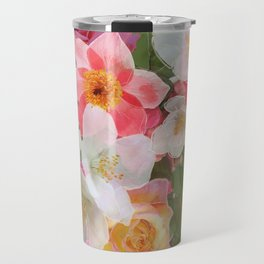 Alhambra Flowers Travel Mug