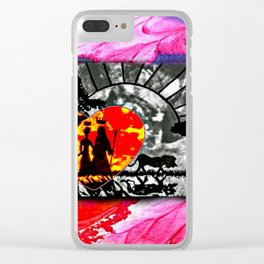 Colors of Africa Clear iPhone Case