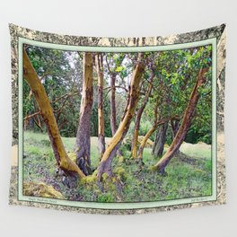 MAGIC MADRONA FOREST Wall Tapestry