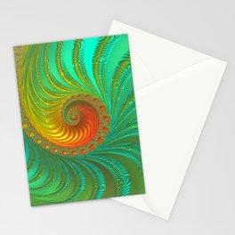 Ripple Effect - Fractal Art  Stationery Cards