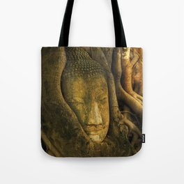 Buddha - Ayutthaya - Thailand Tote Bag