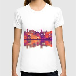 Limerick Ireland Skyline T-shirt