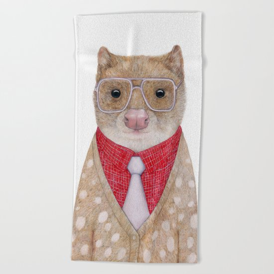 Spotted Quoll Beach Towel