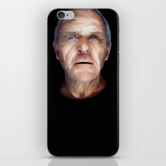 Anthony Hopkins iPhone & iPod Skin