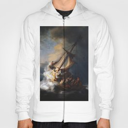 The Storm on the Sea of Galilee, Rembrandt Hoody