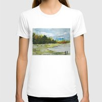 fishing T-shirts featuring Fishing by Baris erdem