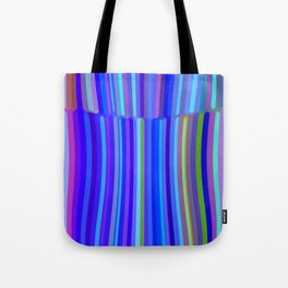 New Year Stripes Tote Bag