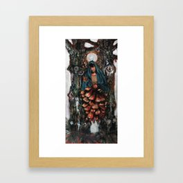 Apparition of the Virgin Mary Framed Art Print