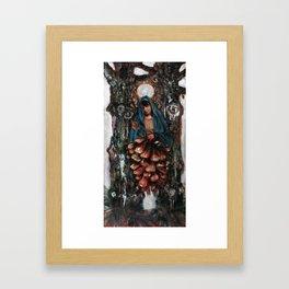 Apparition of the Virgin Mary Framed Art Print