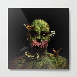 Moss Man Metal Print