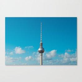 Berlin City Fernsehturm / Tv Tower - skyline  Berlin, Germany Canvas Print