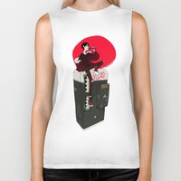 durarara Biker Tanks featuring Pepsi Cola by rhymewithrachel