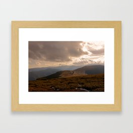 Făgăraș Mountains Framed Art Print