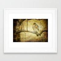 hunter Framed Art Prints featuring Hunter by Curt Saunier