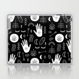 Inverted Witchy Pattern Laptop & iPad Skin