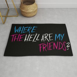 Where The Hell? Rug