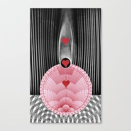 Wind Tunnel of Love, with Impedance (for my daughter) Canvas Print