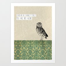 Darkest Forest Art Print