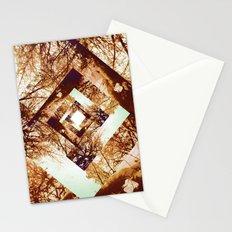 Diamond Design Stationery Cards