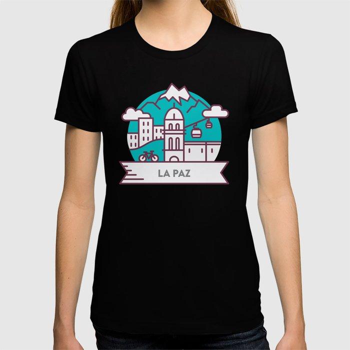 Travel: La Paz, Bolivia T-shirt