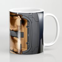 cars Mugs featuring Cars by ThreeBoys