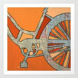 Bike Atlanta  Art Print
