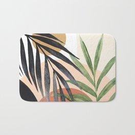 Abstract Tropical Art VI Bath Mat
