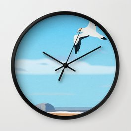 The Gannet and Bass Rock Wall Clock