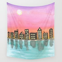 skyscapes 18 Wall Tapestry