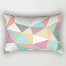 Ice Cream Tris Rectangular Pillow