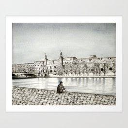 La Seine II Art Print