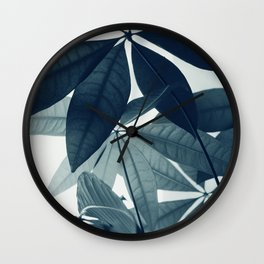 Pachira Aquatica #4 #foliage #decor #art #society6 Wall Clock