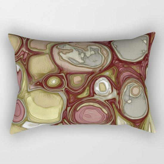 Canyon rocks series No. 4 of 10 Rectangular Pillow