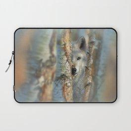 White Wolf - Focused Laptop Sleeve